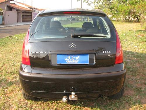 c3 glx 1.4 preto 2006 completo