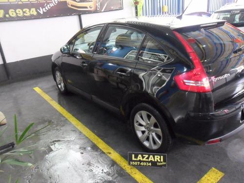 c4 exclusive 2012 flex  automático 2.0 preto top de linha.