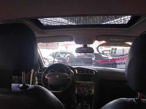 c4 lounge exclusive 1.6 turbo flex aut.
