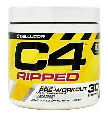 c4 ripped pré workout 30 doses original eua pré treino