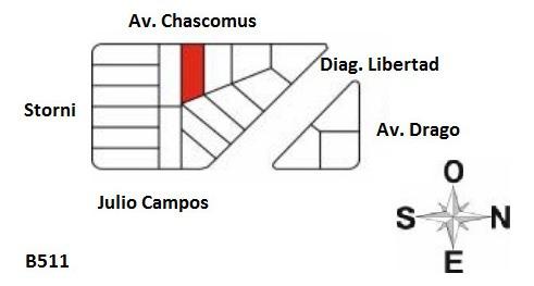 c511 av. chascomús e/diag. libertad y storni, nueva atlantis