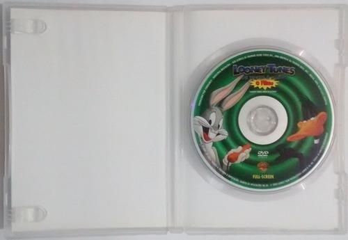 c7056 dvd looney tunes de volta à ação - o filme - joe dante