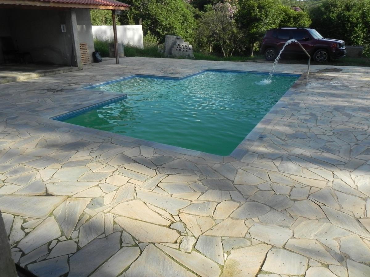 (ca) novo sítio com piscina em santa isabel