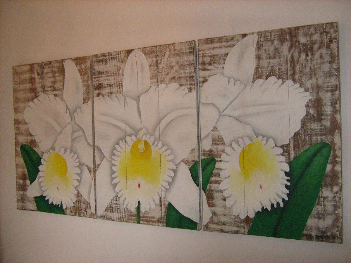 Adesivo De Geladeira ~ Ca482 Painel Triplo Em Madeira De Demoliç u00e3o Arte Mg R$ 2 541,00 em Mercado Livre
