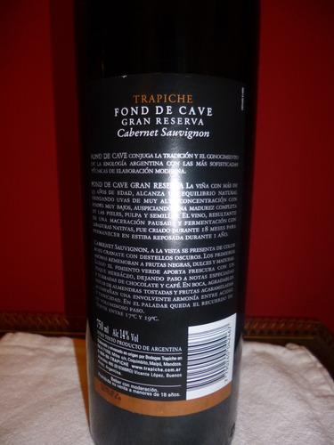cab sauvignon vino