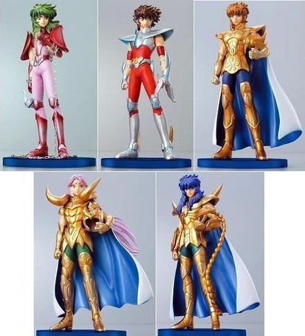 caballeros del zodiaco 4 sets completos alta calidad!