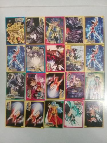 caballeros del zodiaco cartas de coleccion