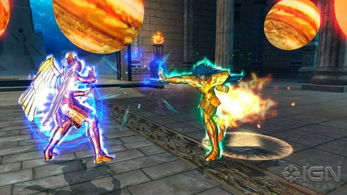 caballeros del zodiaco soldiers souls ps3