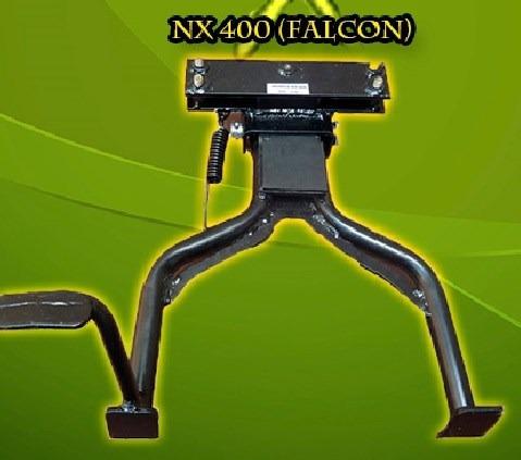 caballete central reforzado rak moto honda nx 400 falcon