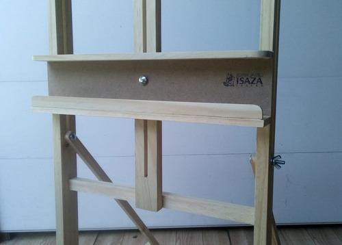 caballete de estudio en madera