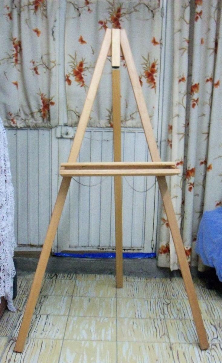 Caballete de madera para artistas 1 en mercado - Madera para pintar ...
