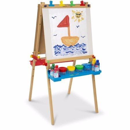 caballete de madera para niños