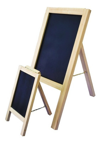 caballete de tiza arqueta tablero 1 metro sencillo mdf