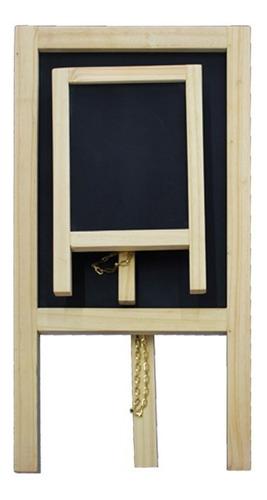 caballete de tiza artecma tablero 35 cm marqueta mediano mdf