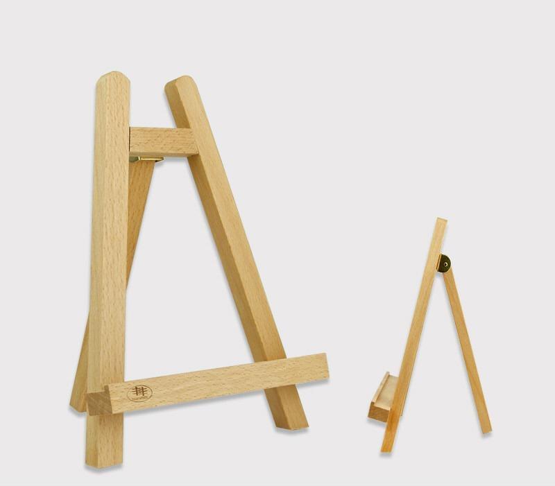 Caballete econ mico de mesa ideal para talleres art sticos for Caballetes de madera para mesas