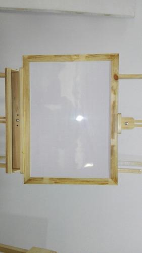 caballete estudio 140cm para pintar y exposición