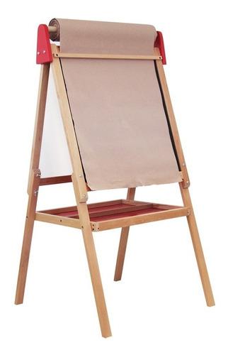 caballete para pintar 3 en 1 para niño, pizarrón o  lienzo
