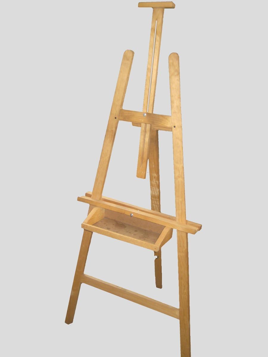 Caballete pintura nuevo practico ajustable oleo arte - Pintura base para madera ...