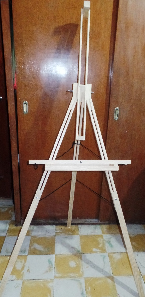 Caballete plegable de madera multiposiciones para pintar - Madera para pintar ...