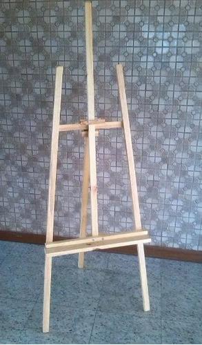 caballete profesional de madera ajustable