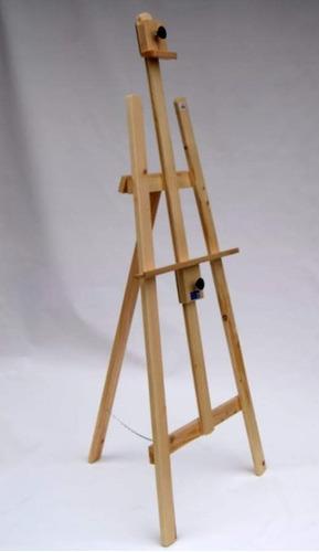 caballete tripode 160cm para pintar en pino casa orsay