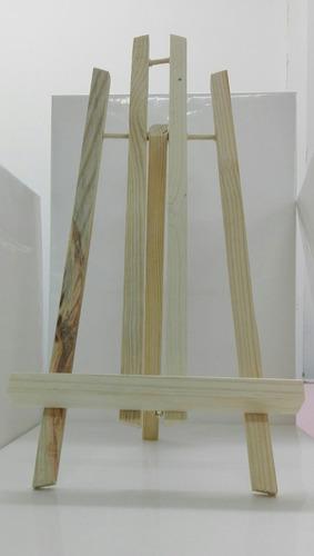 caballete  tripode mesa  45cm  en pino casa orsay