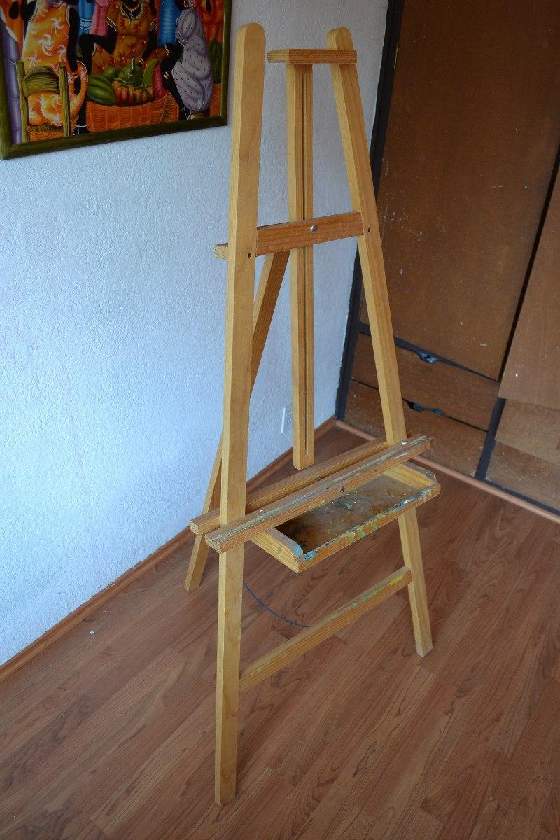 caballete madera resistente bastidores oleo arte pintura en mercado libre. Black Bedroom Furniture Sets. Home Design Ideas