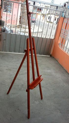 caballetes de madera barnizada 1.90 mt