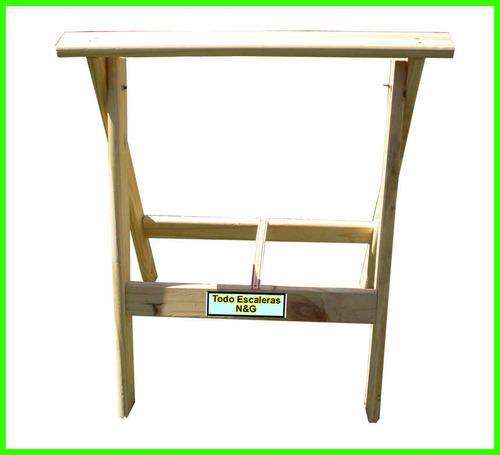 caballetes de madera reforzados rebatibles mejor calidad