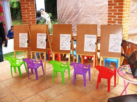 Caballetes infantiles de madera en mercado libre - Caballetes para tableros ...