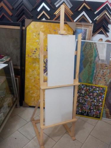 caballetes para pintar lienzos max 1.40 y 2 lienzos a la vez