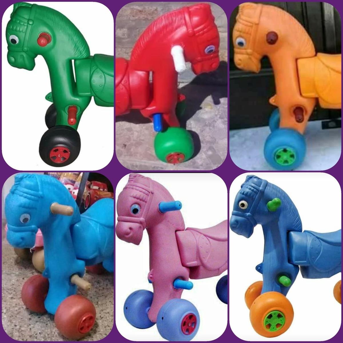 Juguete Caballito Plastico Pata Niños Andador Andarin BCderxo