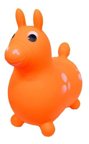 caballito caballo pony saltarin goma 1 a 8 años turby toy