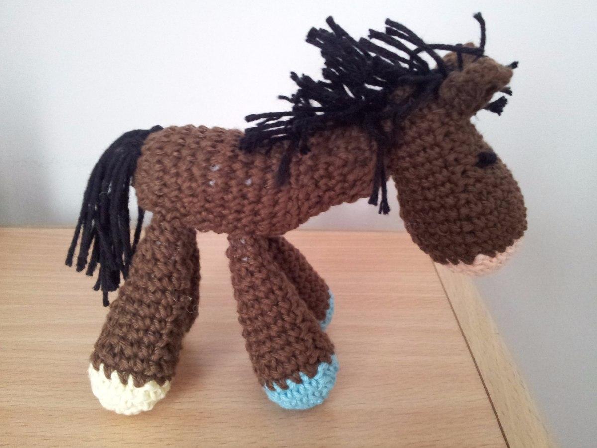 Amigurumis Caballitos A Crochet : Caballito crochet amigurumi en mercado libre