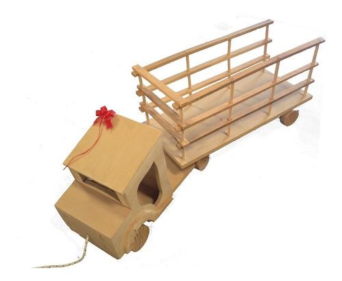 caballito de madera mecedor