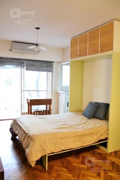 caballito, departamento 1 ambiente con balcón, alquiler temporario sin garantía!
