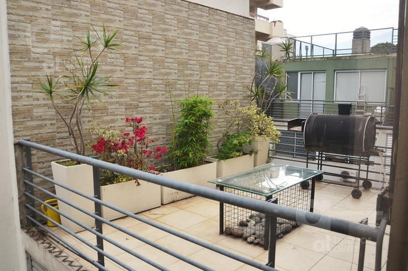 caballito. duplex 3 ambientes con terraza y balcón en  alquiler temporario.
