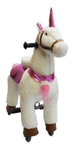 caballito pony funny chico, unicornio con rueda andador