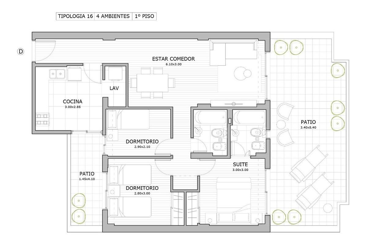 caballito venta 3 y 4 ambientes de categoria