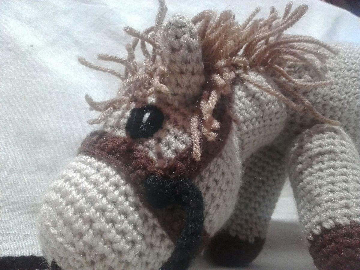 Amigurumis Caballitos A Crochet : Caballo caballito crochet amigurumi peluche muñeco tejido