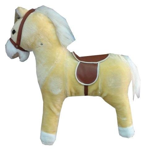 caballo caballito mecedor c/ sonido jem base madera educando