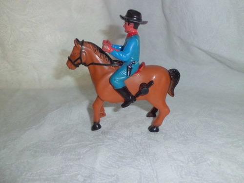 caballo con jinete antiguo vintage  para coleccionistas