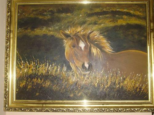 caballo cuadro ganador primer premio