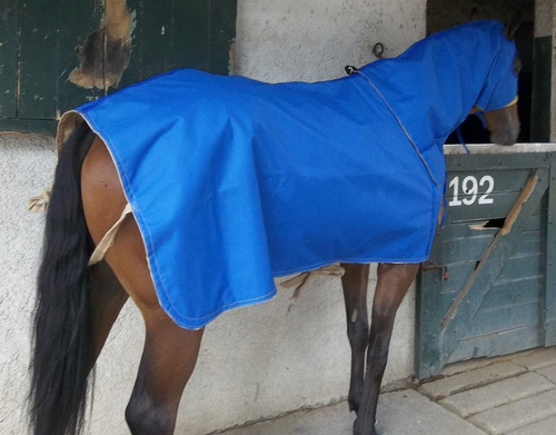 caballo - manta lona impermeable y arpillera, intemperie!!