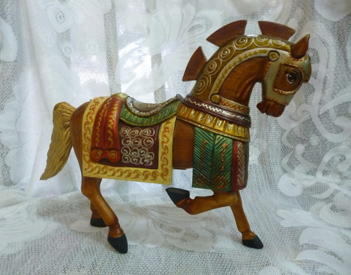 caballo poz colcha