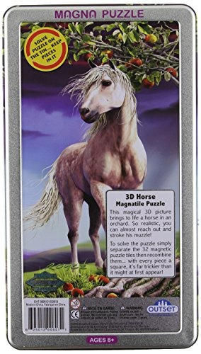 caballo rompecabezas lenticular outset media