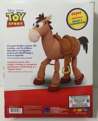 caballo tiro al blanco de toy story figura de tela 40 cm