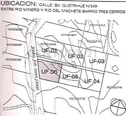 cabaña 73m2 sobre lote 1000m2, bvd. quetrihue, villa la angostura