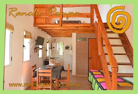 cabaña a 2 km del río y 8 km de villa general belgrano