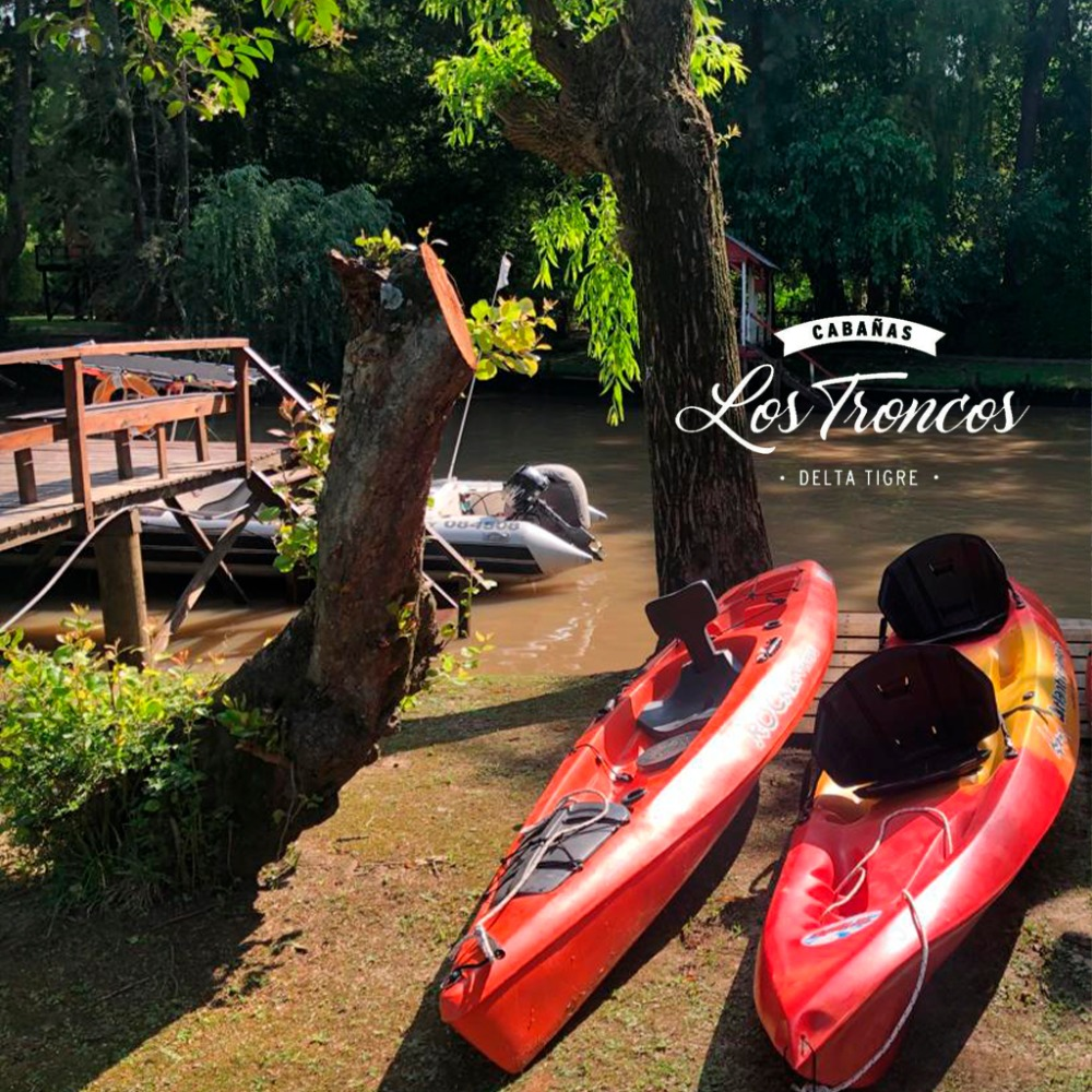cabaña / casa en tigre / delta  2 personas con vista al río